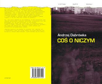 Okładka tomiku Dąbrówka - Coś o niczym
